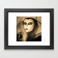 Evil Queen -snow White Framed Art Print