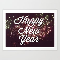 New Year Art Print