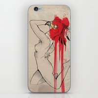secretary birds. iPhone & iPod Skin
