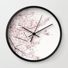 Cherry Blossom Wall Clock