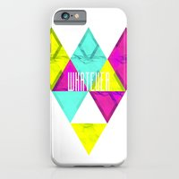 iPhone & iPod Case featuring Paper Triangles ▵WHATEVER▵ by Holly Prudence