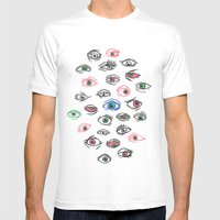 See All Evil Mens Fitted Tee White SMALL