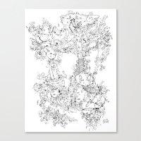 Pasolini`s Garden Canvas Print