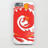 iPhone & iPod Case featuring Dragon by Susana Carvalhinhos