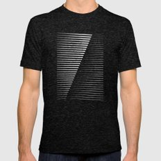 Black Vs. White Mens Fitted Tee Tri-Black SMALL