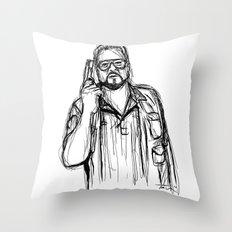 Walter Sobchak Throw Pillow