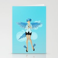 Twitter Mascot Stationery Cards