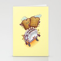 The ToasterBot Stationery Cards