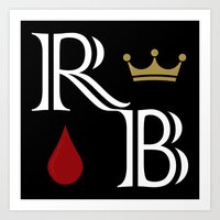 Royal Blood Art Print