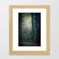 Beckoning Framed Art Print