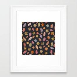Framed Art Print - october leaves - franciscomffonseca