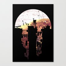 Kite Parkour Canvas Print