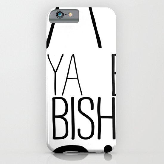 YA  BISH iPhone & iPod Case