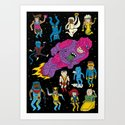 X-Men Alive! Art Print