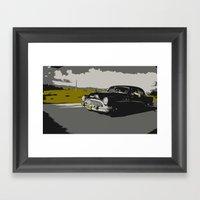 Cuban Car Framed Art Print