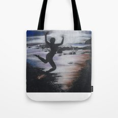Black and White Drawing Tote Bag