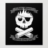 Pirate Camp Canvas Print