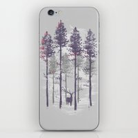 The trance of a deer iPhone & iPod Skin