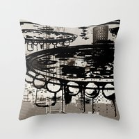 Architect Invader Throw Pillow