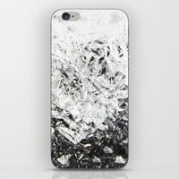 Aluminum Diamonds iPhone & iPod Skin