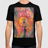 Eye of the storm Mens Fitted Tee Black SMALL