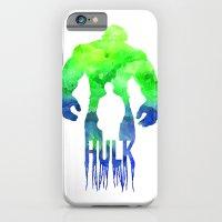 iPhone & iPod Case featuring The Hulk  by Jon Hernandez