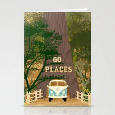 Go Places Redwoods And C… Stationery Cards
