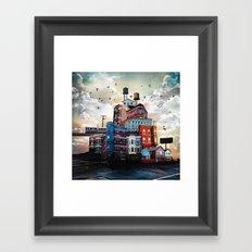 Urban Perspective Framed Art Print