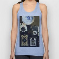 Vintage Camera Collectio… Unisex Tank Top