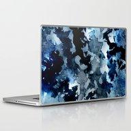 Shadows - Blue Dream Laptop & iPad Skin