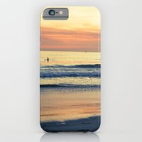 iPhone & iPod Case featuring Orange Skies by Young Swan Designs