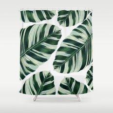 Tropical Foliage #societ… Shower Curtain