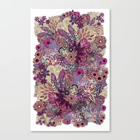 Vernal rising Canvas Print