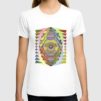 The Singular Vision Womens Fitted Tee White SMALL