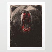 Bearblood Art Print