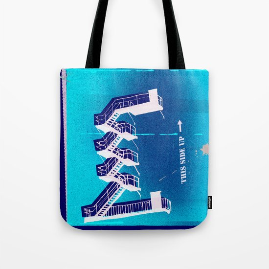 Stairs Up Tote Bag