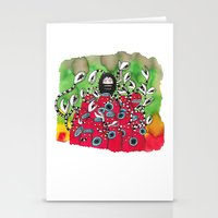 Attack! Stationery Cards