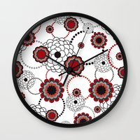 Flowers For My Sweethear… Wall Clock