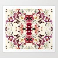 Flora Print Art Print