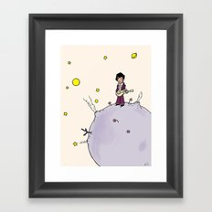 Little Prince Framed Art Print