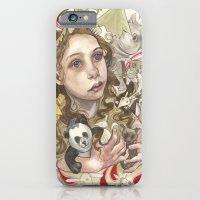 iPhone & iPod Case featuring Animal Hugs by busymockingbird
