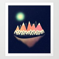 Art Print featuring The Other Side by Zach Terrell