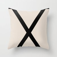 X-Height Throw Pillow