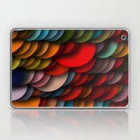 Circle Shadows Laptop & iPad Skin