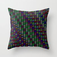 Cray-Zee Throw Pillow