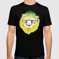 Mr Lion Mens Fitted Tee Black SMALL