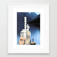 Dare To Be Yourself  365 Framed Art Print