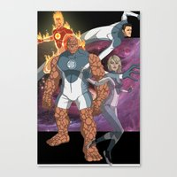 Fantastic Four: World's Greatest Heroes Canvas Print
