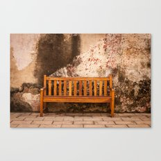 Bench Canvas Print