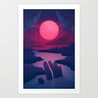 Here Comes The Flood Art Print